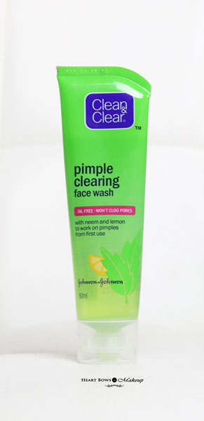 Clean Clear Pimple Clearing Face Wash Review Price Buy Online India