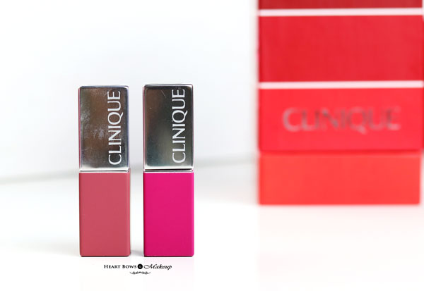 Clinique Pop Matte Lip Colour Primer Review Swatches Shades Price India