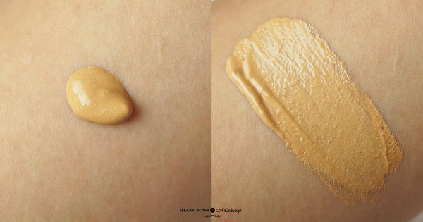 Lakme Absolute Illuminating Foundation 03 Beige Glimmer Swatches Review
