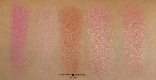 Lakme Absolute Illuminating Shimmer Brick Pink Swatches Review