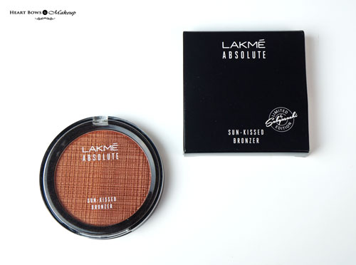 Lakme Absolute Sun Kissed Bronzer Review Swatches Price Buy Online India