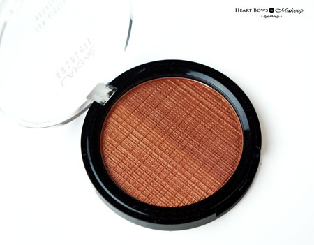 Lakme Absolute Sun Kissed Bronzer Review Swatches Price