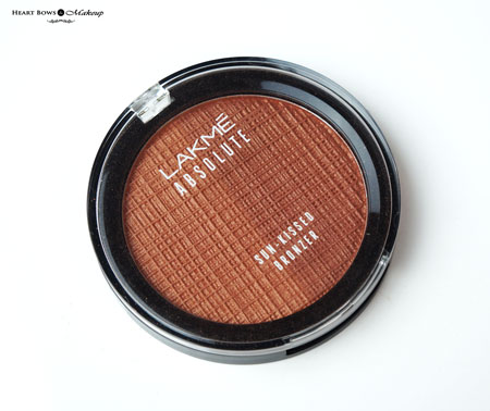 Lakme Absolute Sun Kissed Bronzer Review Swatches