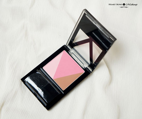 Maybelline V Face Blush Contour Review Swatches