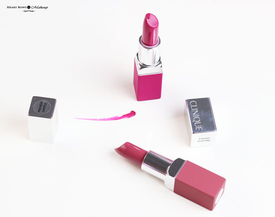 New Clinique Pop Matte Lipsticks Review Price India