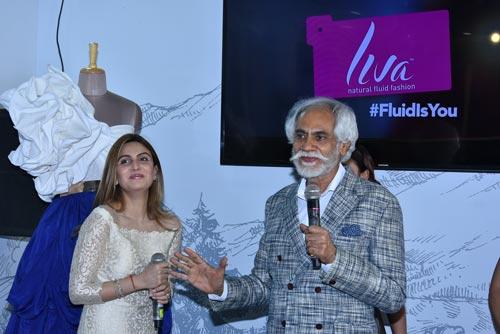 Ridhima Kapoor Sunil Sethi At Liva Lounge
