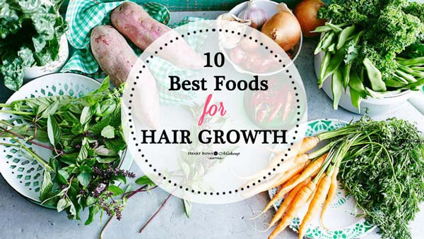 Best Foods For Hair Growth And Thickness Vegetarian Options