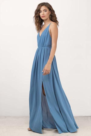 How To Look Taller Slimmer In Maxi Dresses