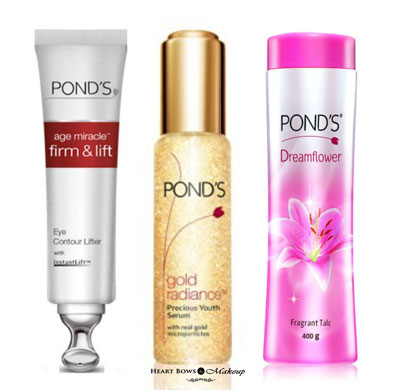 Top Ponds Products For Oily And Dry Skin In India