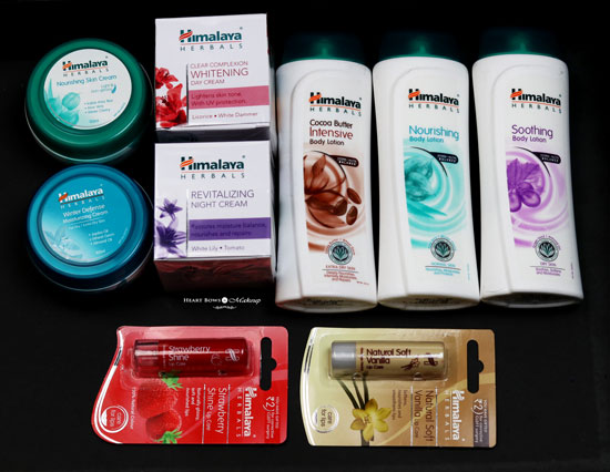 Winter Skincare Sorted Feat. Himalaya Herbals!