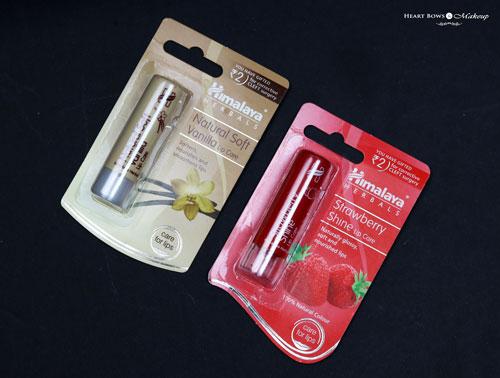 Himalaya Strawberry Vanilla Lip Balm Review Price Buy India