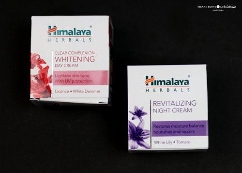 Himalaya Whitening Day Cream Night Cream Review Price