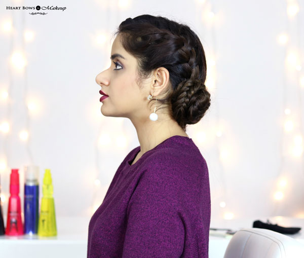 Best French Braid Bun Updo For Blck Hair