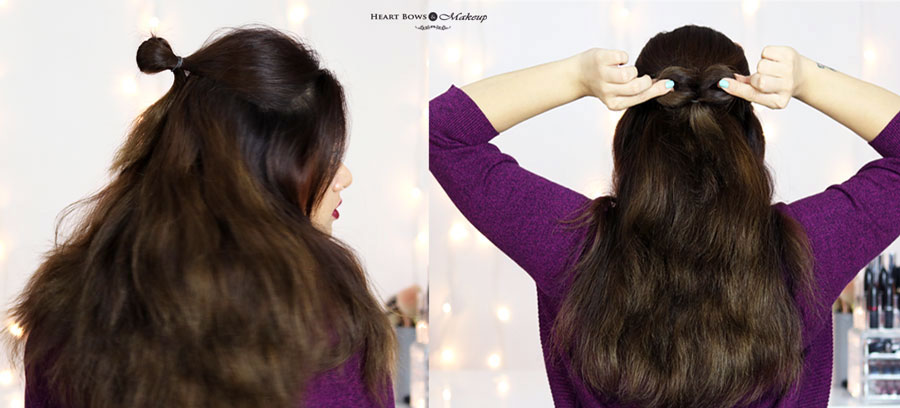 Best Half Hair Updo Bow Hairstyle