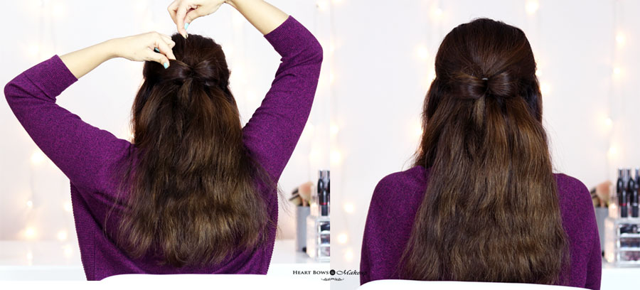 How To Do Bow Hair Updo