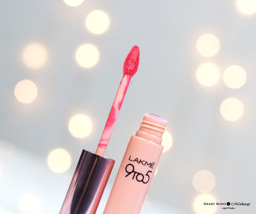 Lakme 9 To 5 Matte Mousse Lip & Cheek Cream Pink Plush Review Swatches Price Buy India