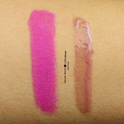 MAC Viva Glam Ariana 2 Lipstick Lipglass Swatches Review