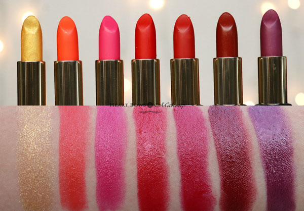 All Loreal Paris Color Riche Gold Obsession Bold In Gold Lipstick Swatches Review