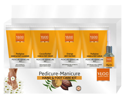 How To Do Manicure Pedicure At Home Vlcc