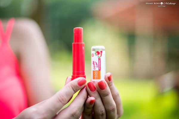 VLCC Loveable Lips Lip Balm Strawberry Review Price Buy India