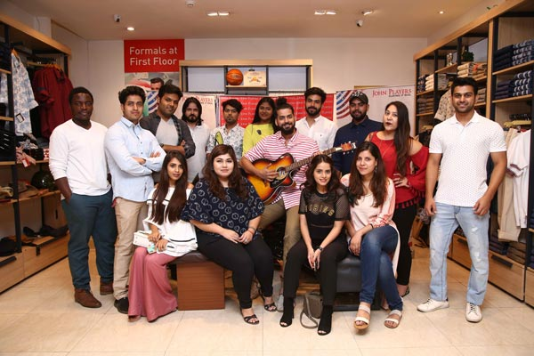 Top Fashion Bloggers At John Players Event