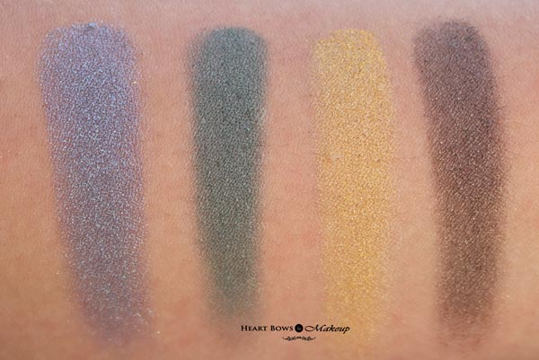 L'Oreal Paris Color Riche La Palette Gold Review Swatches Price India