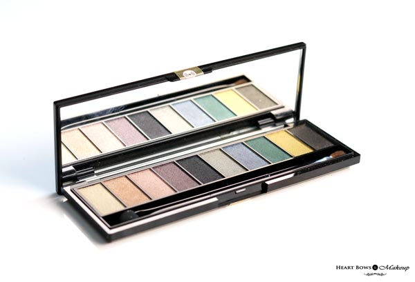 L'Oreal Paris Color Riche La Palette Gold Review Swatches