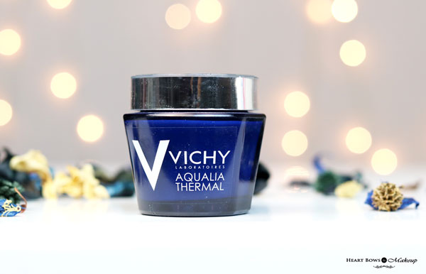 Vichy Aqualia Thermal Night Spa Review Price Buy India Best Night Cream For Fairness