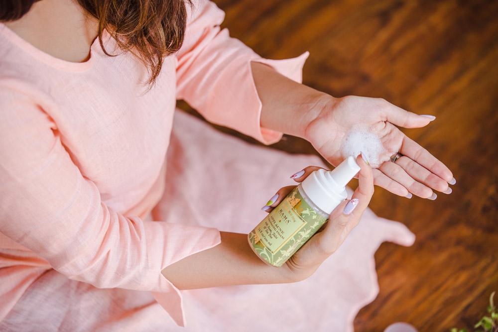 Kama Ayurveda Anti Acne Foaming Face Wash Review Price Buy India