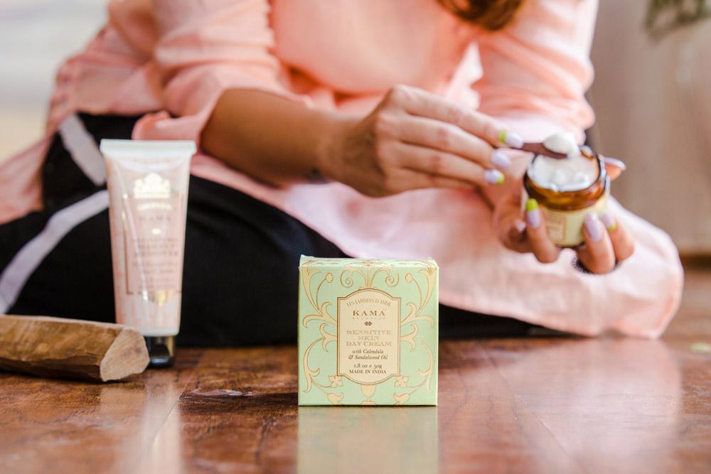 Kama Ayurveda Sensitive Day Cream Review Price Buy India
