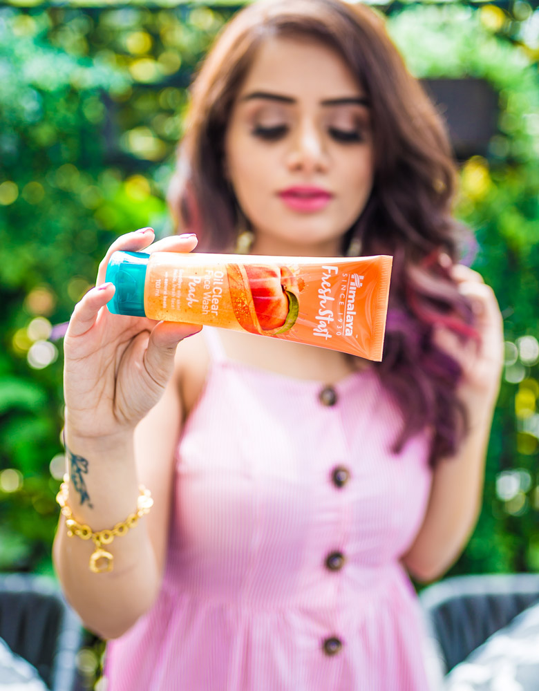Himalaya Fresh Start Oil Clear Peach Face Wash Review Price