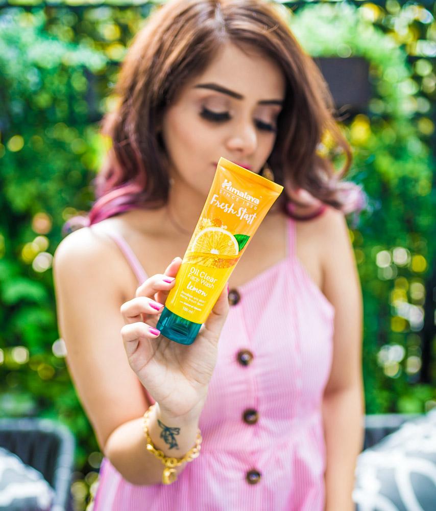 Himalaya Lemon Fresh Start Face Wash Review