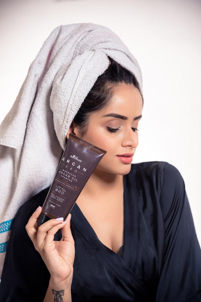 Satthwa Argan Oil SLS Free Shampoo Review Price Buy