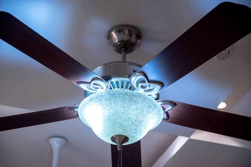 Classy Underlight Fan Orient