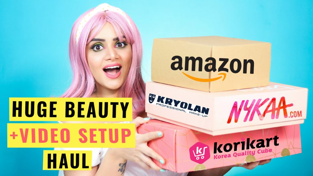 Nykaa Amazon Beauty Deals Haul Hot Pink Sale