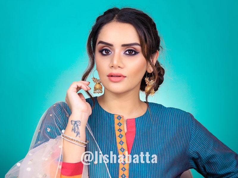 Rakhi Makeup Look Hair Tutorial In Hindi